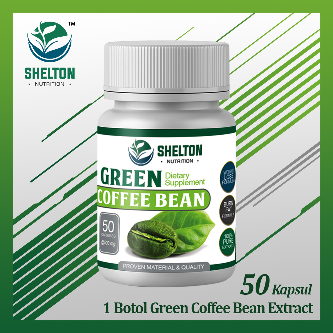 Article Apa Green Coffee Bean itu ?? - Shelton Nutrition - Vitamin dan Suplemen Kesehatan - CV Global Commodity Indonesia